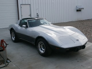 78 Corvette 25th anniversary